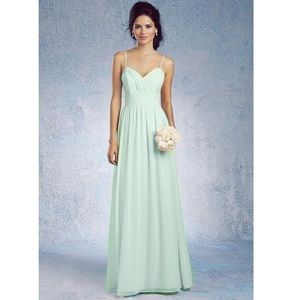 Signature Bridesmaid Dress 7373L Mint